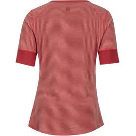 Marmot Cynthia SS Shirt Women Desert Red